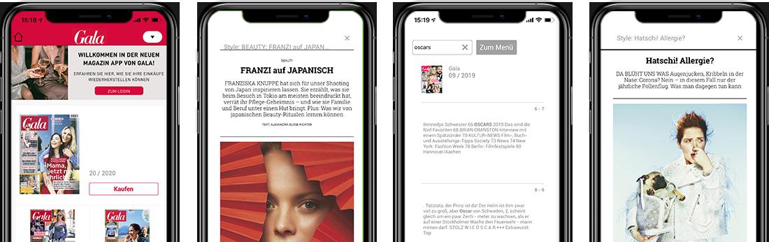 GALA-Magazin-App
